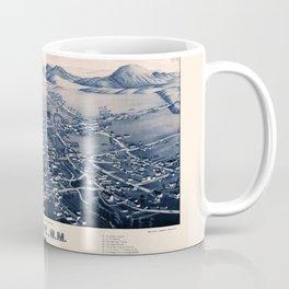 Map Of Santa Fe 1882 Coffee Mug