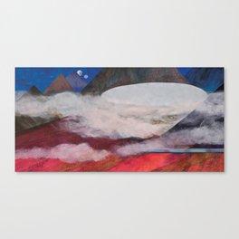 Nisja: the night train 9 Canvas Print
