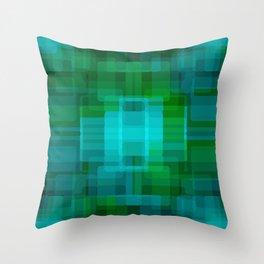 Green#2 Throw Pillow