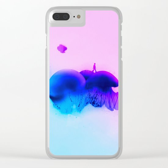 Introspection Clear iPhone Case