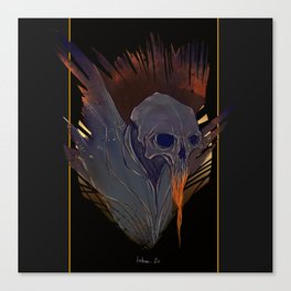 Skull (Thanatos) Canvas Print