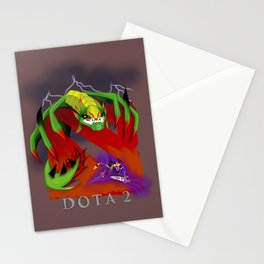 Death from above the Smoke  Stationery Cards