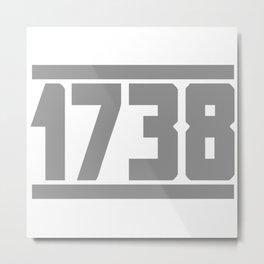 1738 Metal Print