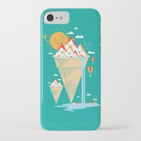 island iPhone & iPod Cases featuring mystery island by Steven Toang