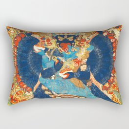 Tantric Buddhist Vajrabhairava Deity 1 Rectangular Pillow