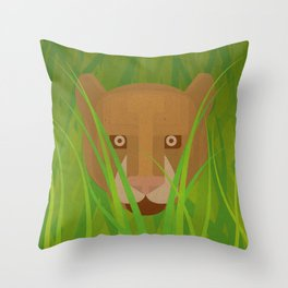 The Paper Forest #1 Throw Pillow