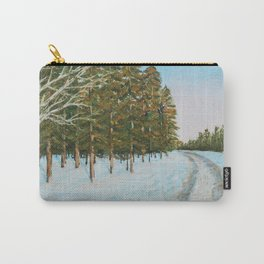Frozen Path Carry-All Pouch