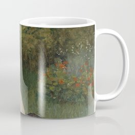 Jean Monet on his Hobby Horse 1872 by Claude Monet Coffee Mug