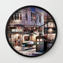 Tardis in The Old Town Wall Clock