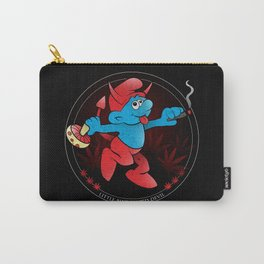 The Little Blue Blazed Devil Carry-All Pouch