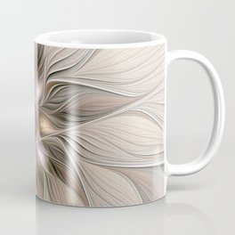 Joyful Flower, Abstract Fractal Art Coffee Mug