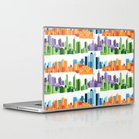cities Laptop & iPad Skins featuring Australian Cities by S. Vaeth