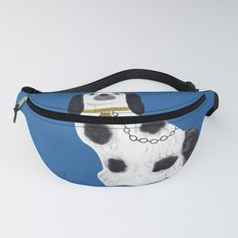 Blue Staffordshire Dog #2 Fanny Pack