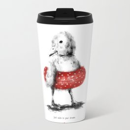 Swim in your dreams Travel Mug