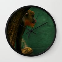 ape Wall Clocks featuring APE by Ersen-T