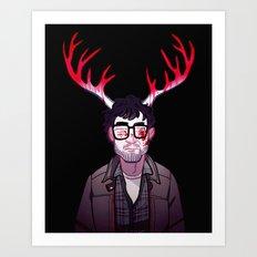 Someone Please Help Art Print