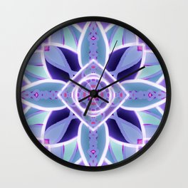 GlowFlower Wall Clock
