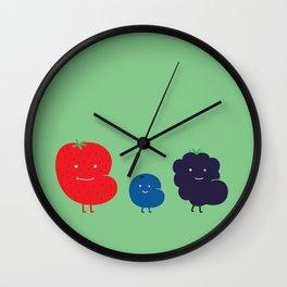 Berry Fat Wall Clock