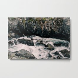 Raging Rapids Metal Print