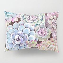 succulent allover Pillow Sham