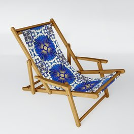 Azulejos - Portuguese Tiles Sling Chair