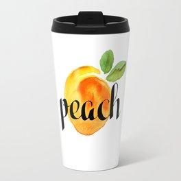 Peach Travel Mug