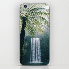 Waterfalls in Bali iPhone Skin