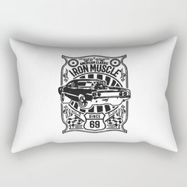 american classic iron muscle Rectangular Pillow