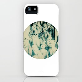 Calling All Skeletons No.1 iPhone Case
