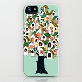 Bird houses iPhone Case