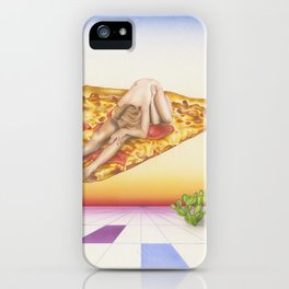 Pizza 69 iPhone Case