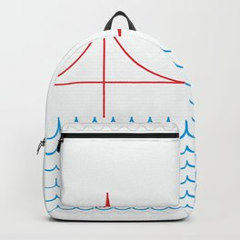 Stamp series - Golden gate Backpack
