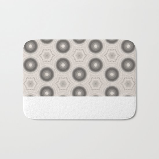 Fractal Cogs n Wheels in CMR01 Bath Mat