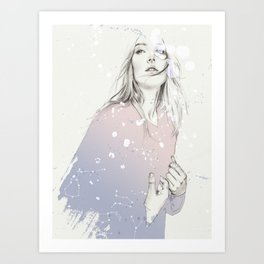 SHINE IN YOUR EYES Art Print