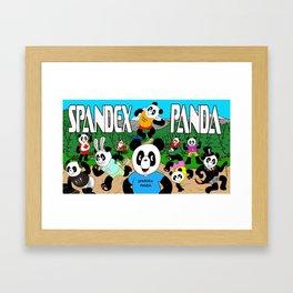 Spandex Panda - The Original Framed Art Print