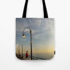 Santa Monica Pier 2 Tote Bag
