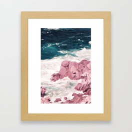 Kiss of the Sea I Framed Art Print