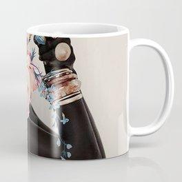 Black of flowers Coffee Mug