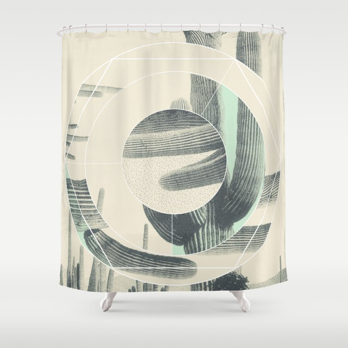 Saguaro Sun Shower Curtain