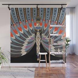 "Art Deco Egyptian Design ""The Nile"" Wall Mural"
