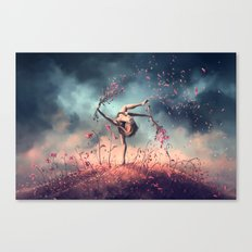 VIRGO from the Dancing Zodiac Canvas Print