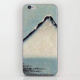 Hokusai, the blue fuji- hokusai,manga,japan,fuji, blue fuji,Shinto iPhone Skin