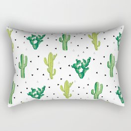Cactus Print Rectangular Pillow