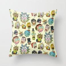 Sick & Gorety Throw Pillow