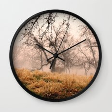 Natural Mystic in the Air Wall Clock