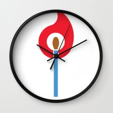 Keep the Flame Wall Clock
