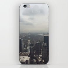 Central Park in the Fog iPhone & iPod Skin