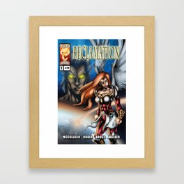 Reclamation #1 Cover Art Framed Art Print