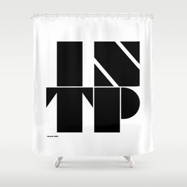 Type Type for INTP Shower Curtain