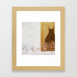 one dress Framed Art Print